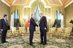 Путин и Эрдоган встретились в Кремле