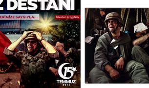 «Солдат-путчист» с пропагандистских афиш Турции оказался срисован с американца