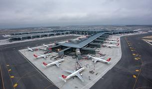 Из нового аэропорта в Стамбуле за всё время его работы не смогли вылететь 179 самолётов