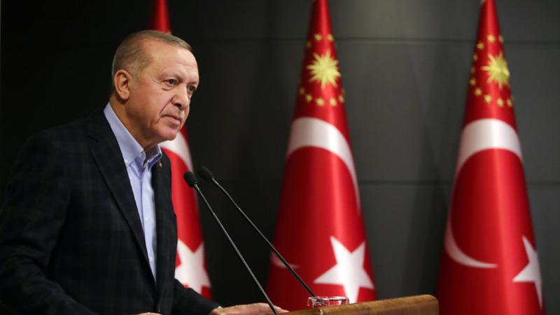 Эрдоган: Турция полностью приостанавливает международное авиасообщение
